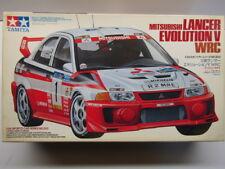 Tamiya 1:24 Scale Mitsubishi Lancer Evo 5 WRC Tommi Makinen Model Kit New #24203