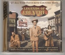(HH460) Legends of Country, 27 All Time Favourites - 2002 CD