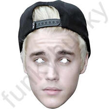 Justin Bieber 2016 Celebrity Singer - All Our Masks Are Pre-Cut!