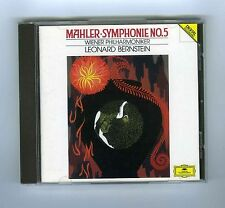 CD MAHLER SYMPHONIE # 5 LEONARD BERNSTEIN