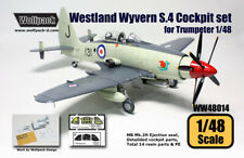 Wolfpack WW48014, Westland Wyvern S.4 Cockpit set (for Trumpeter 1/48 SCALE 1/48