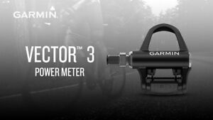 GARMIN VECTOR 3 DOUBLE SIDED POWER METER PEDALS - NEW IN BOX!! - MSRP $1,000