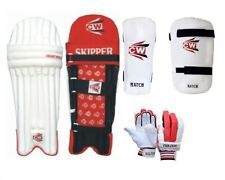 Max Cricket Set Batting Pads Glove Arm & Thigh Guard Protector Gears For Men