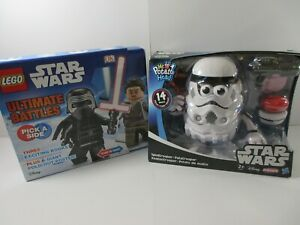 LEGO STAR WARS Potato Head SPUDTROOPER + ULTIMATE BATTLE BOOKS + POSTER (New)