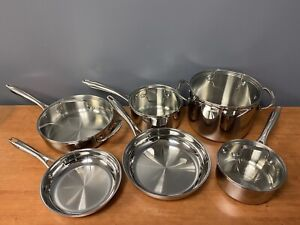 Cuisinart 10 Piece Tri-ply Stainless Steel Cookware Set - TPS-10