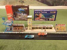 MINT NOS Faller Grandstand Media Tower Pit Row Kits for T Jet Slot Car Race Set