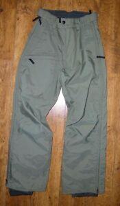 Women's BURTON Tempest Snowboards Ski Trousers Pants Salopettes Waist 30
