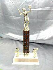 "Female Volleyball award trophy 13"" high"