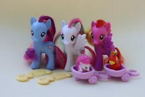 My Little Pony G4 RARES & pets Star Swirl, Blossomforth, Feathermay