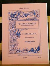 Marcel Dupré O Salutaris opus 9 n°1 partition éditions Leduc