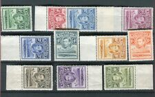 Basutoland KGVI 1938 set of 12 SG18/28 MNH
