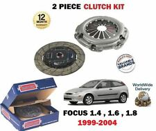 FOR FORD FOCUS 1.4 1.6 1.8 16V 1999-2004 NEW 2 PIECE CLUTCH KIT OE