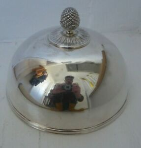Antique Christofle Silver Plated Cover