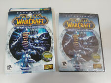 WORLD OF WARCRAFT WRATH OF THE LICH KING EXPANSION JUEGO PC 2 X DVD-ROM NUEVO