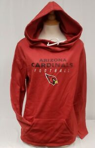 Brand New Majestic women's NFL Arizona Cardinals Thermabase Pullover Hoody