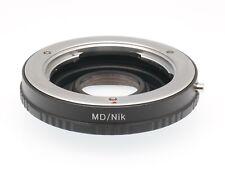 Minolta MD Lens to Nikon Camera Lens Adapter