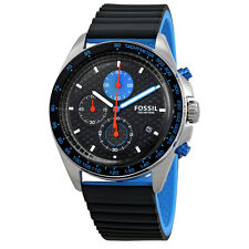 Fossil Sport 54 Chronograph Black Dial Mens Watch CH3079