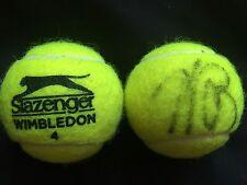 TENNIS: ANDREA PETKOVIC SIGNED SLAZENGER WIMBLEDON TENNIS BALL+COA *PROOF*