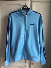 Adidas Vintage 1970's Tracksuit Top Blue Ian Brown Liam Noel Gallagher Spezial