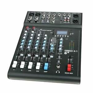 Studiomaster Club XS 6+ 4 Channel Mixer