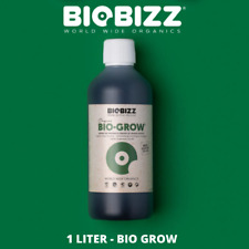 Biobizz Bio-Grow 1L Organic Plant Nutrient Food Hydroponics top Dutchbrand