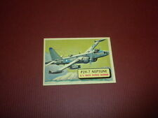 PLANES trading card #96 TOPPS 1957 Army Navy Marines Air Force PRINTED IN U.S.A
