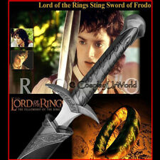 Lotr Lord of the Rings Sting Fantasy Medieval Sword Blade of Frodo w. Scabbard