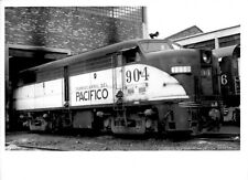 1964 Ferrocarril Del Pacifico Train #904 Loco Engine 5x7 Photo X2200S Mexico A