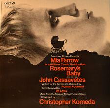 "OST - SOUNDTRACK - ROSEMARYS BABY - CHRISTOPHER KOMEDA 12"" LP (L834)"