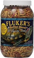 Buffet Blend Aquatic Turtle Food Reptile Worms Pellets Shrimp Vitamins Mineral