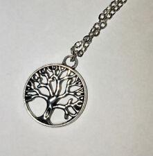 Silver Plated Flowers & Plants Fashion Necklaces & Pendants 41 - 45 cm Length