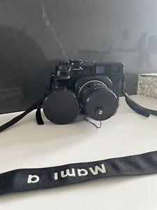 Mamiya 7 II Medium Format Film Camera BLACK, N 80mm F/4 L Lens - Excellent