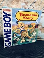 TASMANIA STORY Nintendo Game Boy AUTHENTIC CARTRIDGE CIB GAMEBOY VTG RARE FUN