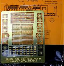 Gold Medal Models 160-40 - GP-7, GP-9, GP-18 Detail Sets- N Scale