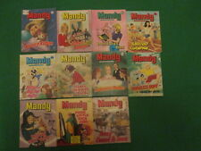 More details for 11 issues of mandy - picture story library for girls - no's 53 to 92 - 1982-85
