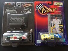 WINNERS CIRCLE LOT of 2 Dale Earnhardt Jr 25th anniversary 88 car & 31 Wrangler