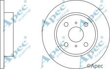 FRONT BRAKE DISCS (PAIR) FOR TOYOTA COROLLA FX COMPACT GENUINE APEC DSK118