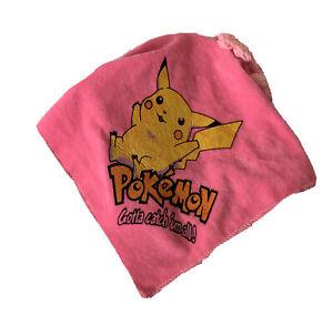 Kids Pokémon Headband With Headscarf and Plaits Costume Cute Pink GUC