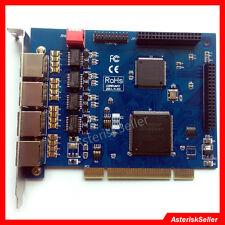 4 Port E1 Card T1 Card ISDN PRI Board Freepbx Issabel AsteriskNow asterisk card
