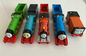 Tomy Trackmaster Thomas the Tank Engine battery Trains Non Runners/broken X 5