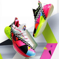 PEAK Parker-7 Limited Edition Basketball Shoes TAICHI Midsole Colorful Sneakers