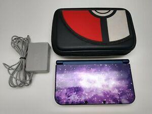 Nintendo 'New' 3DS XL Galaxy Style Purple Handheld Console