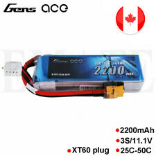 Gens ace 25C 2200mah 11.1V 3S Lipo Battery XT60 Plug For RC Crawlers Helicopter