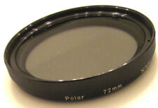 Nikon 72mm Polar  Linear Polarizing Filter   Polarizer for Nikkor Zoom Lens