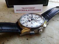 aeb79b6221 MONTRE HOMME AUTOMATIQUE PARNIS GMT Rolex Look NEUVE *Livraison sous ...