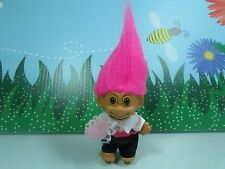 """RING BEARER - 3"""" Russ Troll Dolls - NEW IN ORIGINAL WRAPPER WITH FLAWS"""