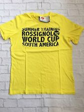 ROSSIGNOL men's T-shirt. Yellow. Size:Large. BNWT