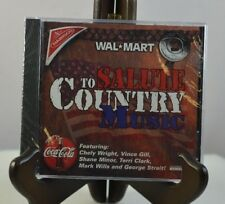 WALMART: SALUTE TO COUNTRY MUSIC BY VARIOUS ARTISTS (CD, 2000) COCA-COLA NABISCO