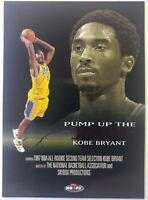 1998 98 SKYBOX NBA HOOPS Kobe Bryant PUMP UP THE JAM #PJ4, INSERT Lakers