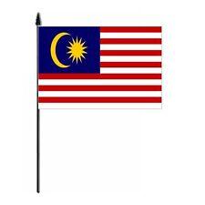 Malaysia Country Hand Flag - medium